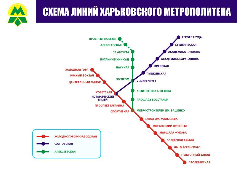 Днепропетровск метро схема